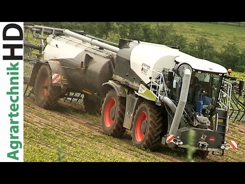 GÜLLEBOMBER   Claas Xerion 4000   Slurry Injection   Farming