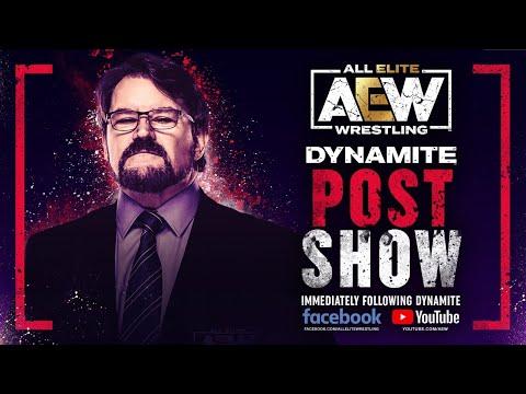 Tony Schiavone AEW Dynamite Post-Show