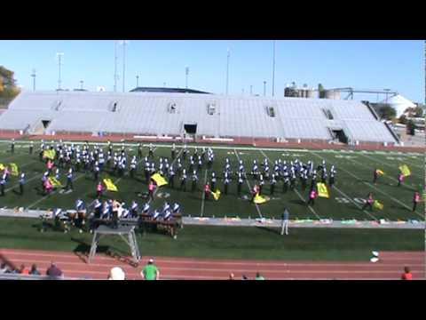 Cedar Rapids Washington High School marching band 2011