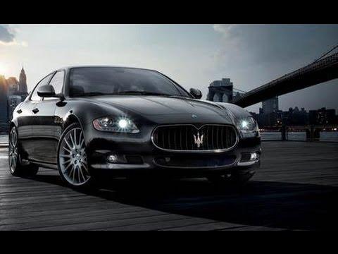 2009 Maserati Quattroporte Sport GT S @ NAIAS - CAR and DRIVER - YouTube
