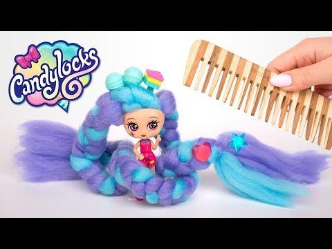 Распаковка Candylocks: Милые девочки с длиннющими волосами