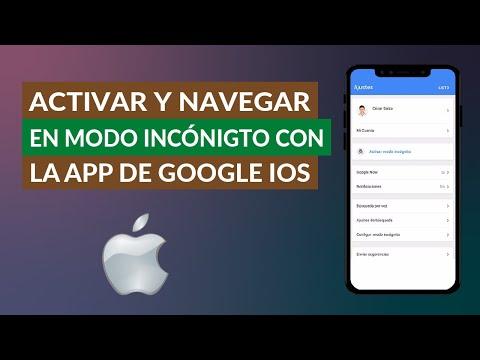 Cómo Activar y Navegar en Modo Incógnito con la App Oficial de Google para iOS