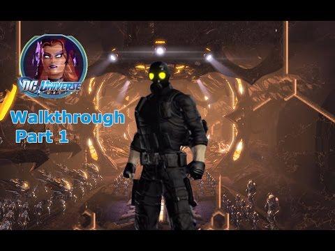 DC Universe Online Villain (Circe) Walkthrough Part 1