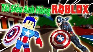 Roblox-When Your NOOB became Captain America-Captain America Super Hero Adventures Online