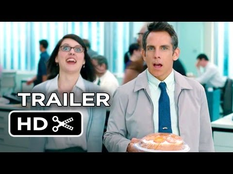 The Secret Life of Walter Mitty Official Theatrical Trailer (2013) - Ben Stiller Movie HD