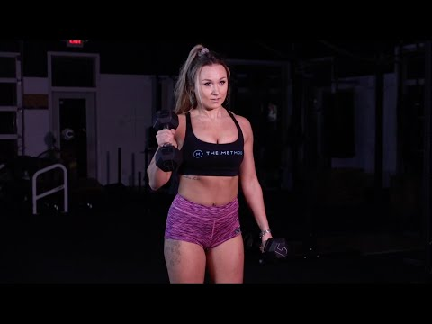 Upper Body Tabata Dumbbell Workout