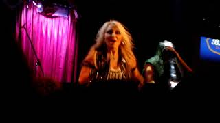 Doro - guitar + Cold, Cold World @ BB Kings, NYC, Sep 10, 2017