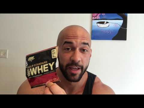 optimum-nutrition-cake-donut-whey-protein-supplement-review