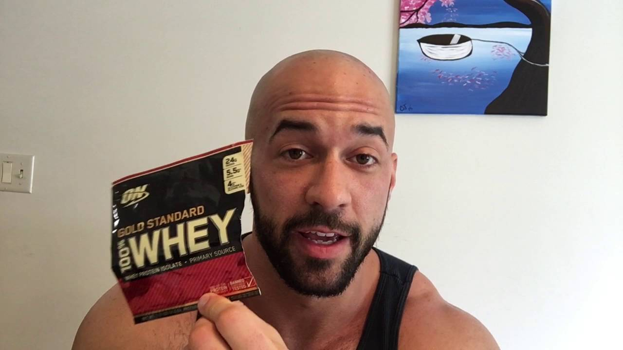 Optimum Nutrition Cake Donut Whey Protein Supplement Review