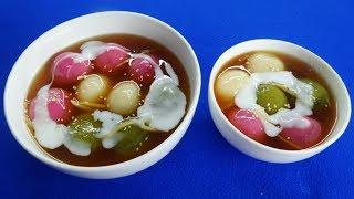 Món Ăn Ngon - CHÈ TRÔI NƯỚC 3 MÀU ngon thơm