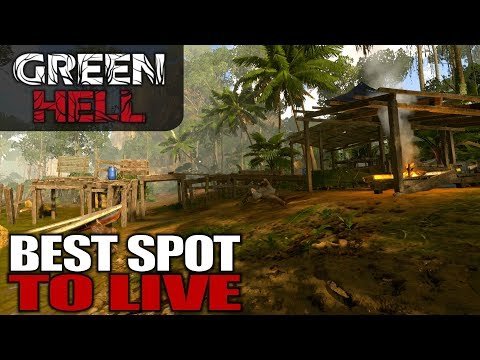 BEST SPOT TO LIVE | Green Hell | Let's Play Gameplay | S01E19