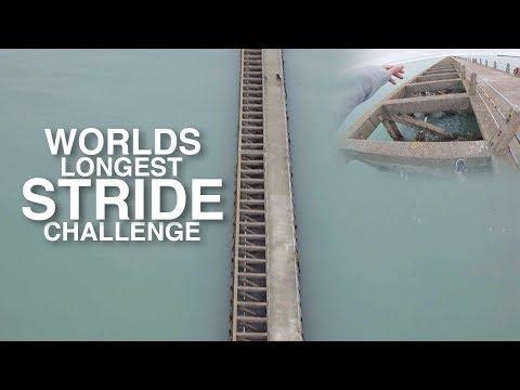World's Longest Stride Challenge