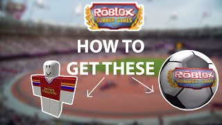 ROBLOX Summer Games | How To Get The Football/Soccerball and Jersey
