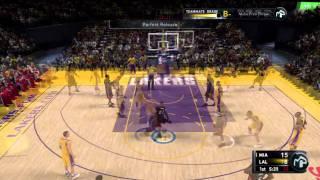 NBA 2K11 My Player - Key Game Heat @ Lakers