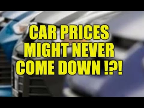 CAR PRICES MIGHT NEVER COME DOWN, NEW CAR PRICE HITS $41000!!, SHORTAGES, SUPPLY CHAIN IS SICK