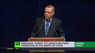 Turkey threatens to send troops to northern Syria to fight 'terrorist groups'