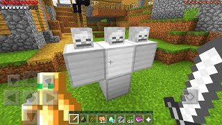 We FOUND The STRONGEST Boss Mob in Minecraft Pocket Edition!!!
