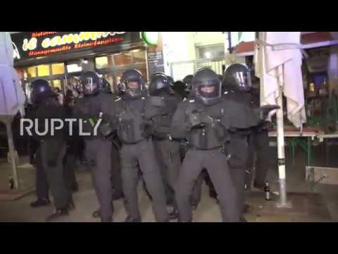 Germany: Clashes break out at Hamburg May Day protest
