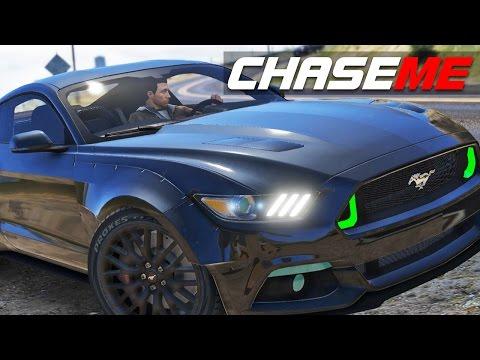 Chase Me GTA V E01 | Hennessey Ford Mustang GT Premium HPE750 Boss