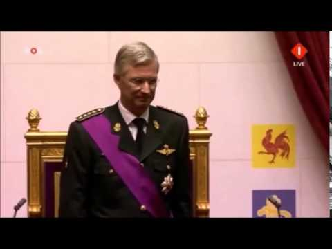 The Enthronement Ceremony of King Philippe 2013