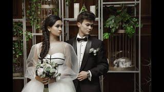 Самая стильная свадьба Кыргызстана - Жан Воинов и Зарина Алмасова