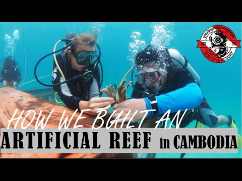 CORAL REEF NURSERY AND ARTIFICIAL REEF IN CAMBODIA