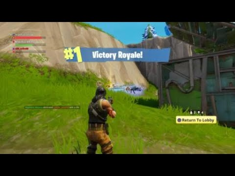 Fortnite Squad Win With Matthiaus Napoleon And Mike