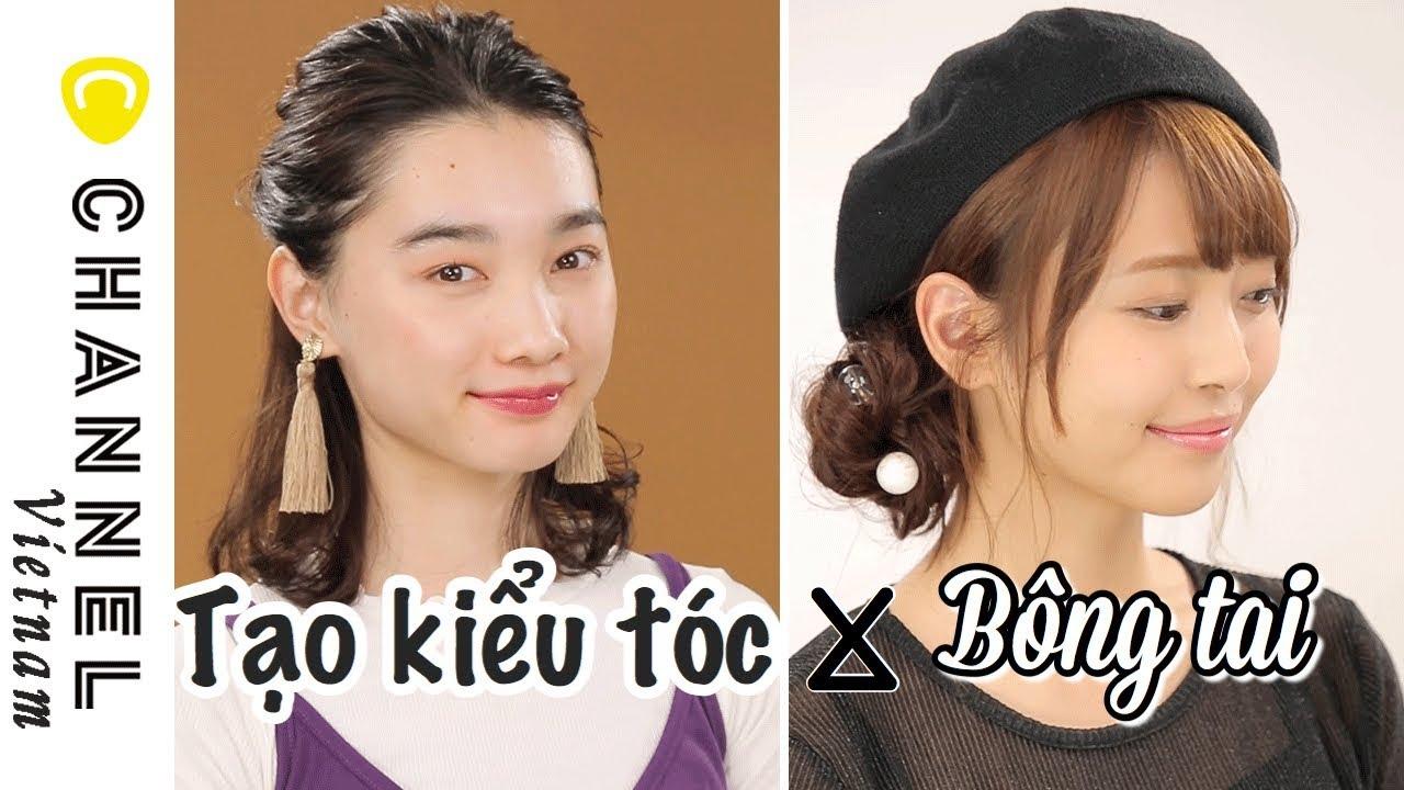 Tạo kiểu tóc phù hợp với từng loại bông tai | Tổng quát những tài liệu liên quan sản phẩm tạo kiểu tóc nữ đầy đủ
