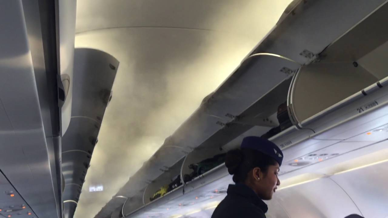 smoke in flight fog flight air conditioner fog youtube