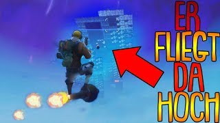 ER FLIEGT HOCH ZU IHNEN! | Top 10 Fortnite Clips