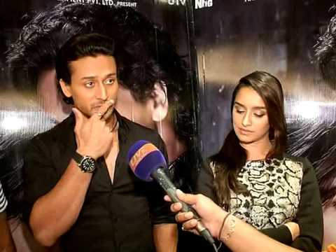 Tiger Shroff and Shraddha Kapoor interview for the Baaghi- The Rebel by Shailesh Singh