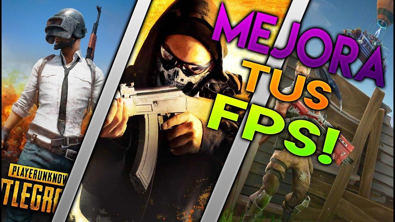 4 TIPS PARA MEJORAR TUS FPS  EN TUS JUEGOS!! (PUBG, FORTNITE, CSGO)