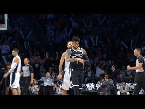 D'Angelo Russell and Co. Highlights - 10/20/17 Magic at Nets
