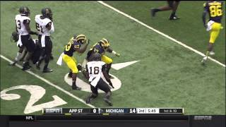 2014 Michigan Highlights v. Appalachian State