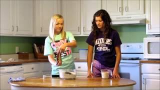 Hazelnut Chocolate Chip Scone Demonstration