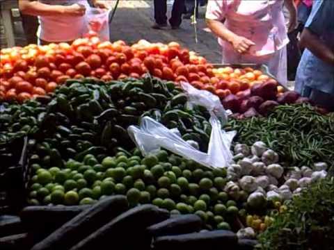 El mercado dominical de Huatusco