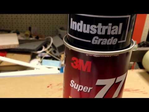 3M™ Scotch-Weld™ Super 77™ ― Аэрозольный клей-спрей быстрого действия