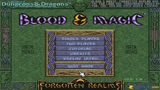 Blood & Magic gameplay (PC Game, 1996)