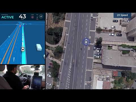 Unedited 40 Minute Ride In Mobileye's Autonomous Vehicle