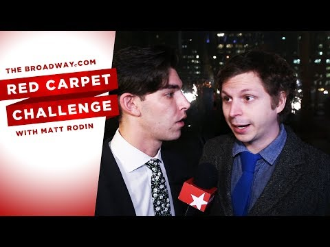 RED CARPET CHALLENGE: LOBBY HERO with Michael Cera, Aaron Tveit, Will Roland and more!