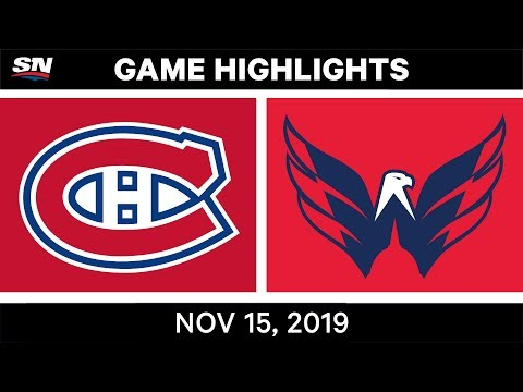 NHL Highlights | Canadiens vs. Capitals – Nov. 15, 2019
