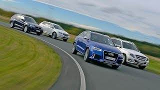 BMW X3 vs. Audi RS Q3 vs. Mercedes GLK vs. Volvo XC60