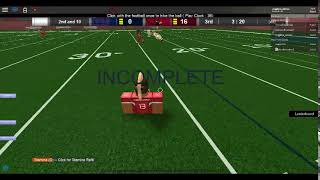 Roblox - Football Legends Training for Best Qb