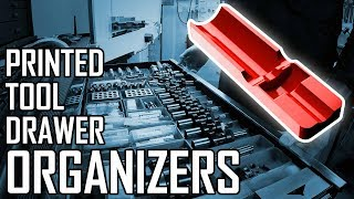 How to Make 3D Printed Tool Drawer Organizers