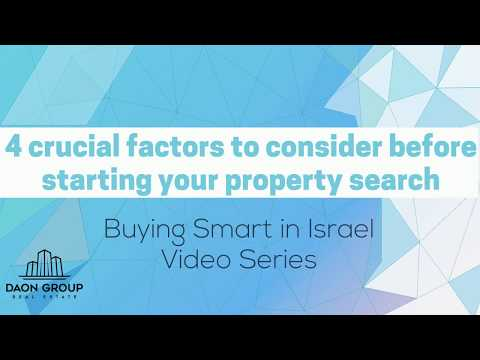 4-crucial-factors-to-consider-before-starting-your-property-search-in-israel