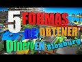 Como obetener dinero facil en bloxburg - 5 formas para obtener dinero con nicksdaga(Roblox español)