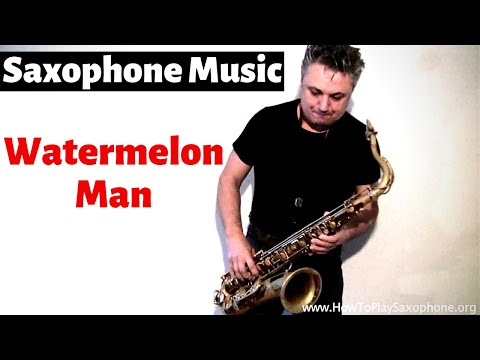 Watermelon Man - Saxophone Music by Johnny Ferreira