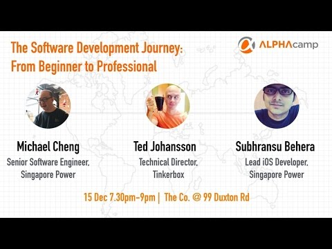 The Software Development Journey: From Beginner to Professional - ALPHA Camp
