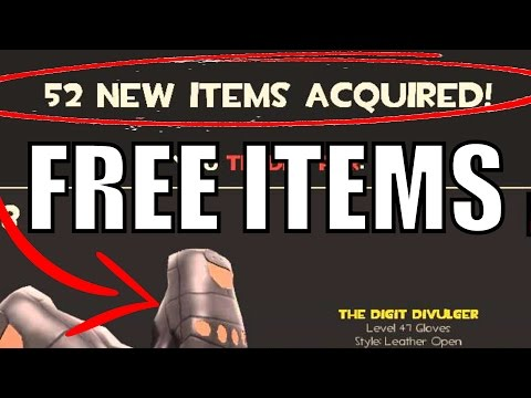 TF2: How to get FREE items in TF2 October 2017 (Quickest) TEAM FORTRESS 2