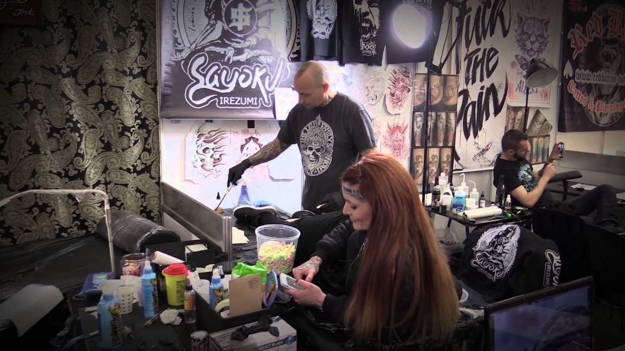 Tattoo Convention Frankfurt 39 Tebori Hannya Sayoku Irezumi ... - Tattoo Messe München
